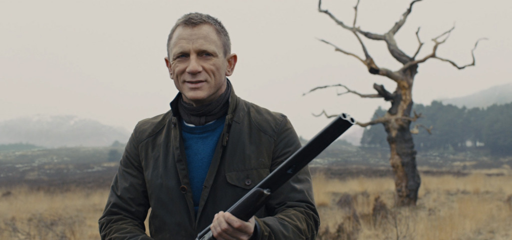 James Bond Barbour